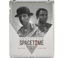 Inspector Space Time iPad Case/Skin