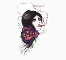 dirt weed girl by resonanteye