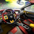 Luxury Car Interior Design by Vidka Art