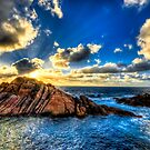Colourful Sunburst - Canal Rocks by Tyson Battersby