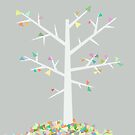 Tree Graphic by Mareike Bhmer