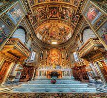 San Marcello Al Corso by Yhun Suarez