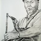 Uilleann Piper Kevin Henry  by Alice McMahon