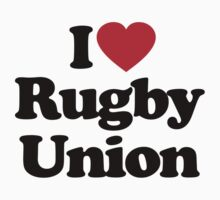 I Love Rugby Union by iheart