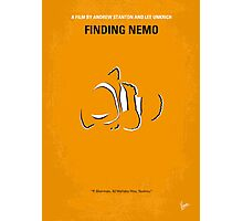No054 My Finding Nemo minimal movie poster Photographic Print