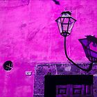 Lamp & Door/Wall-Magenta by Tamarra