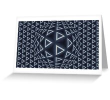 Triangle World Greeting Card