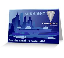 Visit Beautiful Midnight! Greeting Card