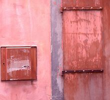 Pink Wall/Door by Tamarra