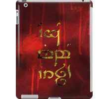 Ego mibo orch - Go kiss an orc iPad Case/Skin