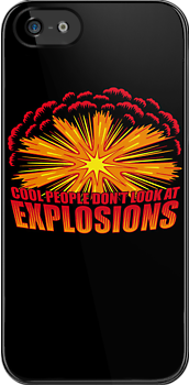 Don't Look at Explosions by DoodleDojo