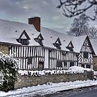 Mary Arden's House in the Snow by Michelle Hardy  Photography