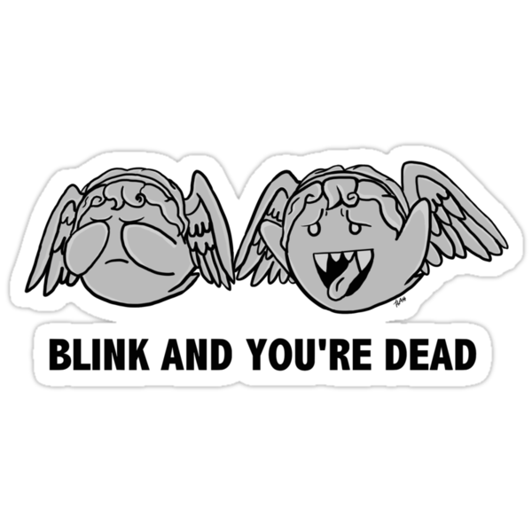 Blink And You're Dead by SylarSushiCat