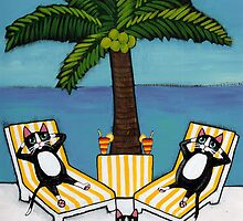 Cats on Vacation by Ryan Conners