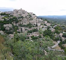 Gordes Perched Village Provence by Chickory