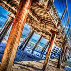 Under Henley Beach Jetty by robyn70