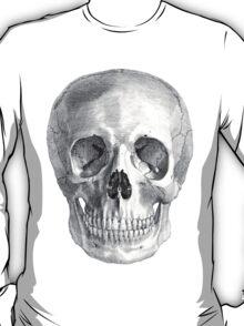 Albinus Skull 01 - Back To The Basic - White Background T-Shirt