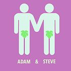 Adam And Steve by DeadBird