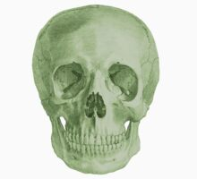 Albinus Skull 03 - Zombie Attack - Black Background Kids Clothes
