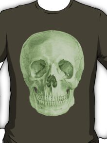 Albinus Skull 03 - Zombie Attack - Black Background T-Shirt