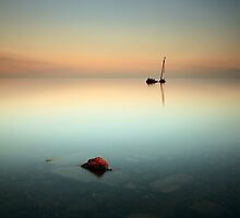 Flat calm Shipwreck by Photo Scotland
