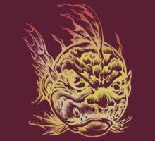 Bright Fish Face Monster 2013 T-Shirt