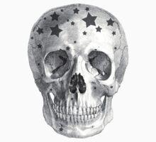 Albinus Skull 06 - Wannabe Star - White Background Kids Clothes
