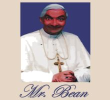 Mr Bean as the new Pope by KpncoolDesigns