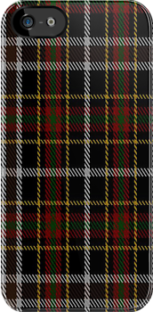 00825 West Coast Woven Mills Fashion Tartan #1572-2 Fabric Print Iphone Case by Detnecs2013