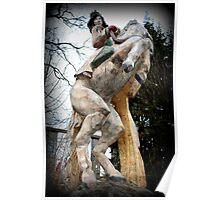 Queen on Horseback Poster