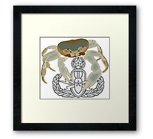 EOD Master Crab Framed Print