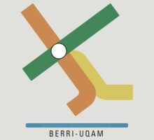 Station Berri-UQAM by DenizenTO