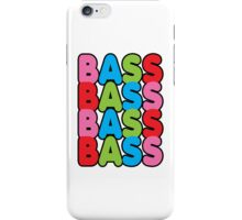 Bass iPhone Case/Skin