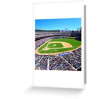 Texas Rangers Game Day Greeting Card