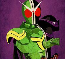 Kamen Rider W by abom