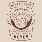 NeverShoutNever merch by xPikaPowerx