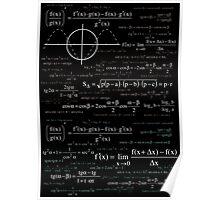 Math formula Poster