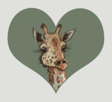 Lovely Lashes Giraffe T-Shirt