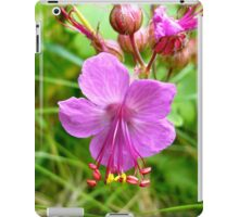 Sticky Geranium (available in ipod, iphone, & ipad cases) iPad Case/Skin