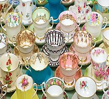 Tea cups by tiffanyholly
