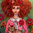 THE RED HEAD CALLIES CAT by kimberlysdream