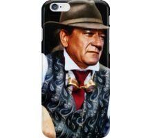 John Wayne in a silk waistcoat iPhone Case/Skin