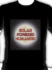 Solar Powered Human T-Shirt