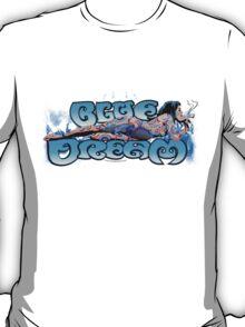 Blue Dream Marijuana 420 strain Art T-Shirt