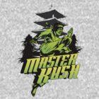 Master Kush Marijuana Strain Art by kushcoast