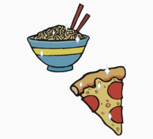 Ramen Pizza by Kathryn DiMartino
