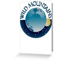 Wild Mountains Logo Greeting Card