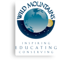 Wild Mountains - Inspiring, Educating, Conserving Canvas Print