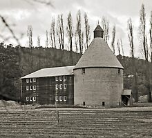 Oast House—New Norfolk, Tasmania by Brett Rogers