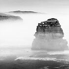 Australia - Great Ocean Road - BW III by lesslinear